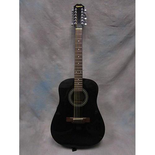 Epiphone PR-100BK 12 String Acoustic Guitar