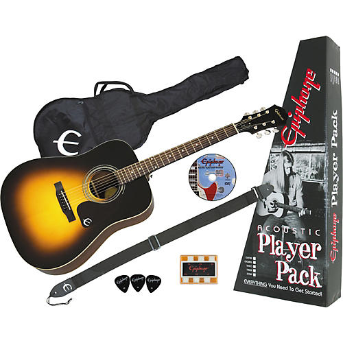 Epiphone PR-150 Acoustic Guitar Value Pack Natural