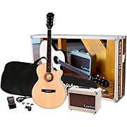 PR-4E Acoustic-Electric Guitar Player Pack Natural