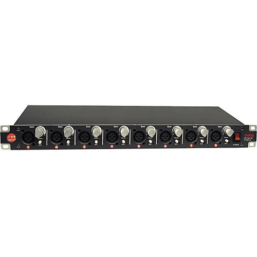 SM Pro Audio PR-8 8-Channel Mic Preamp-thumbnail