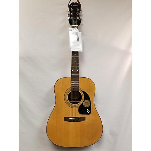 Used Epiphone Pr Acoustic Guitar Natural