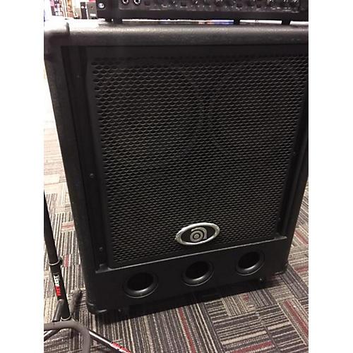 used ampeg pr410hlf 4x10 bass cabinet guitar center. Black Bedroom Furniture Sets. Home Design Ideas