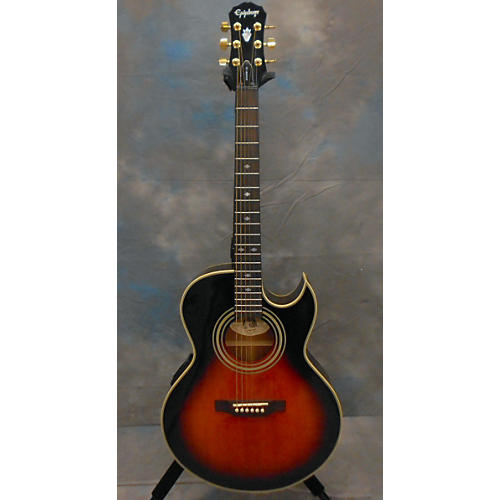Epiphone PR5E Acoustic Electric Guitar Sunburst
