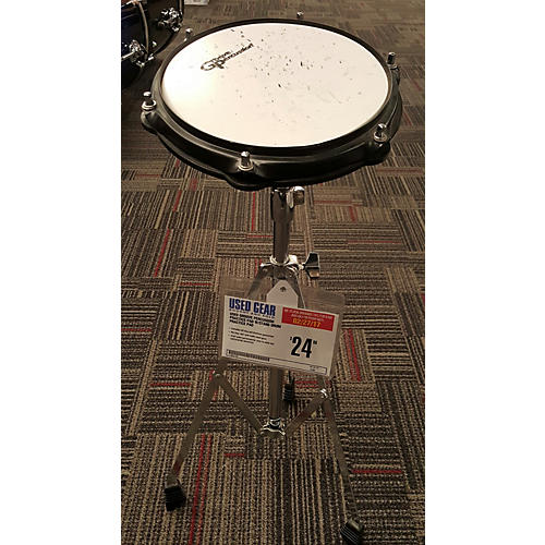 Groove Percussion PRACTICE PAD W/STAND Drum Practice Pad