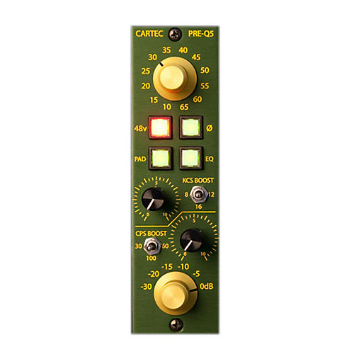 CARTEC Audio PRE-Q5 API 500 Series Mic Preamp