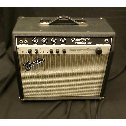Fender PRINCETON RECORDING AMP Black Tube Guitar Combo Amp-thumbnail