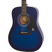 PRO-1 Acoustic Guitar Transparent Blue
