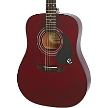 PRO-1 Acoustic Guitar Wine Red