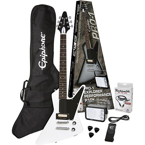 Epiphone PRO-1 Explorer Electric Guitar Pack-thumbnail