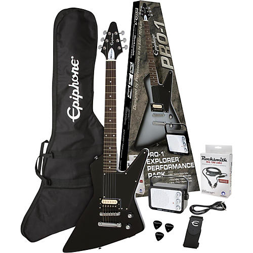 Epiphone PRO-1 Explorer Electric Guitar Pack-thumbnail