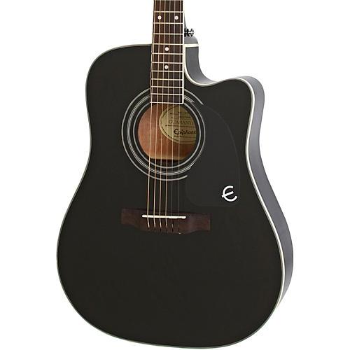 Epiphone PRO-1 ULTRA Acoustic-Electric Guitar Ebony