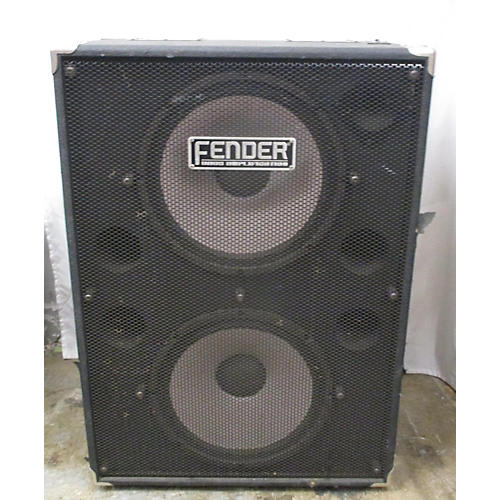 used fender pro 2x15 bass cabinet guitar center. Black Bedroom Furniture Sets. Home Design Ideas
