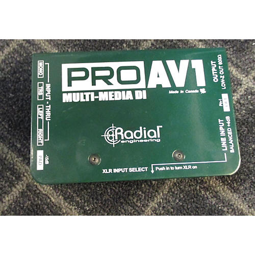 Radial Engineering PRO AV1 Direct Box