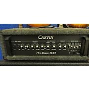 Carvin PRO BASS 500 Bass Amp Head