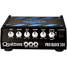 Quilter Labs PRO BLOCK 200-HEAD ProBlock 200 200W Guitar Amp Head