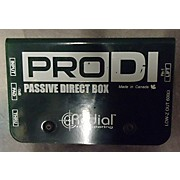 Radial Engineering PRO D1 Passive Direct Box Direct Box