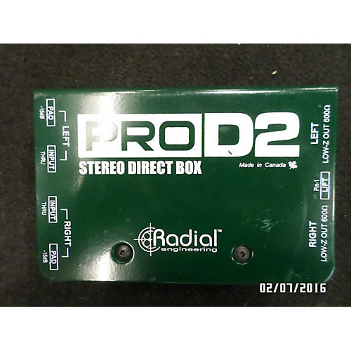 Radial Engineering PRO D2 DI Direct Box