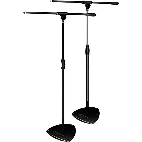 Ultimate Support PRO-ST-F Pkg-standard weighted base/fixed boom,std height Mic Stand 2-Pack-thumbnail