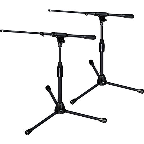 Ultimate Support PRO-T-SHORT-T Pkg-tripod base/telescoping boom,short height 2-Pack