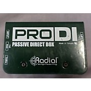 Radial Engineering PROD1 Direct Box