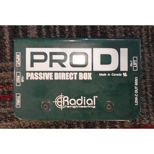 In Store Used PRODI Direct Box