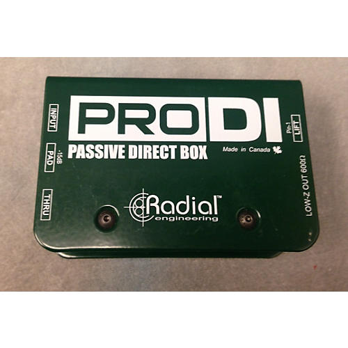 Radial Engineering PRODI Direct Box