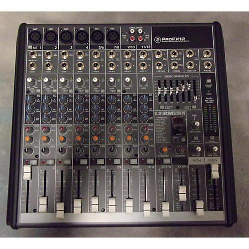 Mackie PROFX12 Unpowered Mixer-thumbnail
