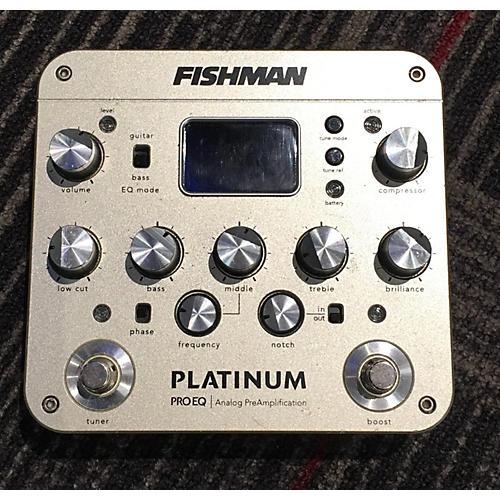 Fishman PROPLT201 Platinum EQ Pre With DI Pedal-thumbnail