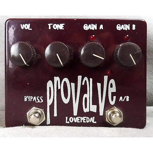 Lovepedal PROVALE DUAL DISTORTION VER 1 Effect Pedal