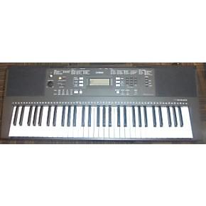 used yamaha prs e343 portable keyboard guitar center. Black Bedroom Furniture Sets. Home Design Ideas