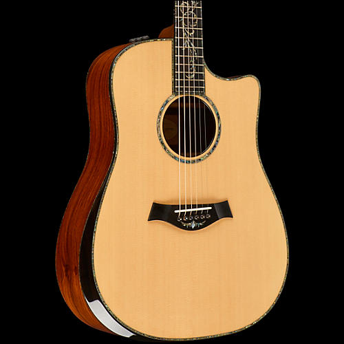 Taylor PS10ce Dreadnought Acoustic-Electric Guitar Natural