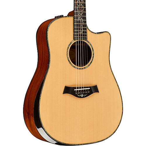 Taylor PS10ce Dreadnought Cutaway ES2 Acoustic-Electric Guitar Natural