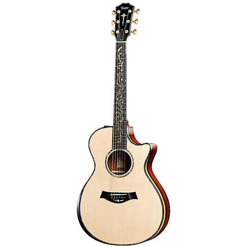 Taylor PS12ce Presentation Series Cocobolo/Spruce Grand Concert Acoustic-Electric Guitar
