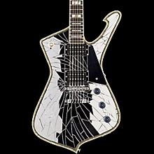 Ibanez PS1CM Paul Stanley Signature PS Series Electric Guitar Cracked Mirror