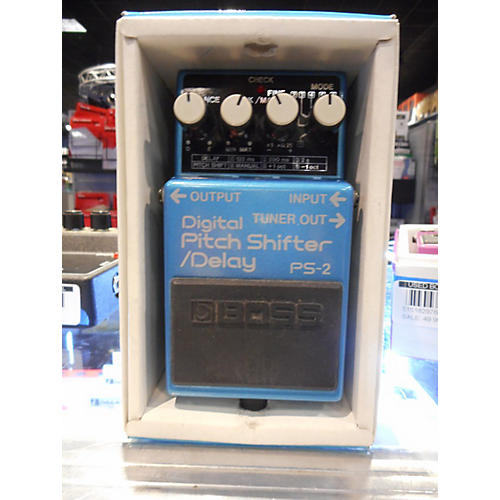 Boss PS2 Digital Pitch Shifter Effect Pedal