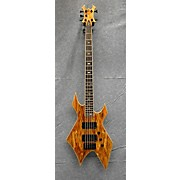 B.C. Rich PS5WBW Paolo Gregoletto Signature 5 String Warlock Electric Bass Guitar