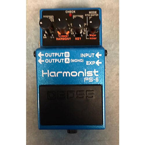Boss PS6 Harmonist Effect Pedal-thumbnail