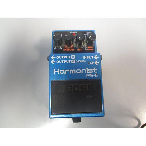 Boss PS6 Harmonist Effect Pedal
