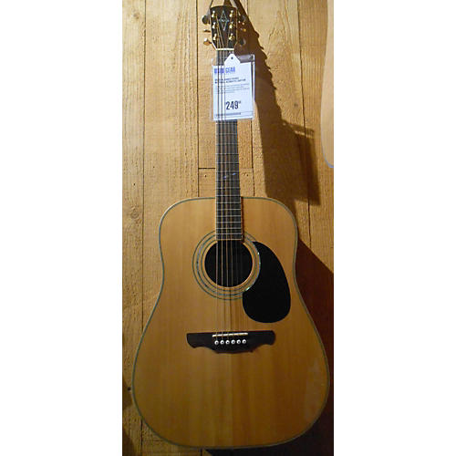 Alvarez PS90S Natural Acoustic Guitar-thumbnail