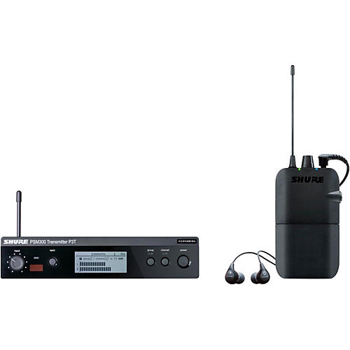 Shure SE112 and SE112 Wireless