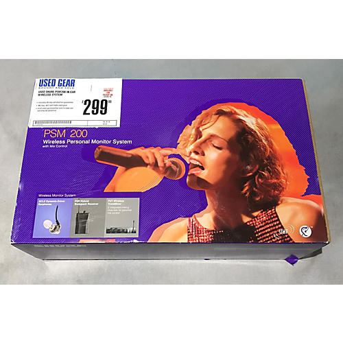 Shure PSM200 In Ear Wireless System-thumbnail