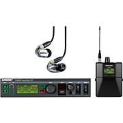 Shure PSM900 System with P9RA Rechargeable Bodypack Receiver and SE425CL Sound Isolating Earphones