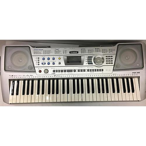Used yamaha psr 290 61 key portable keyboard guitar center for Yamaha piano keyboard 61 key psr 180