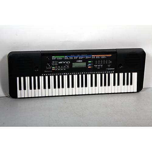 blemished yamaha psr e253 61 key portable keyboard. Black Bedroom Furniture Sets. Home Design Ideas
