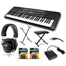 Yamaha PSR-E263 61-Key Portable Keyboard Packages