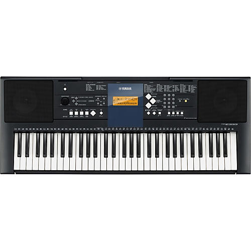 Yamaha PSR-E333 61-Key Mid-Level Portable Keyboard with Survival Kit-thumbnail