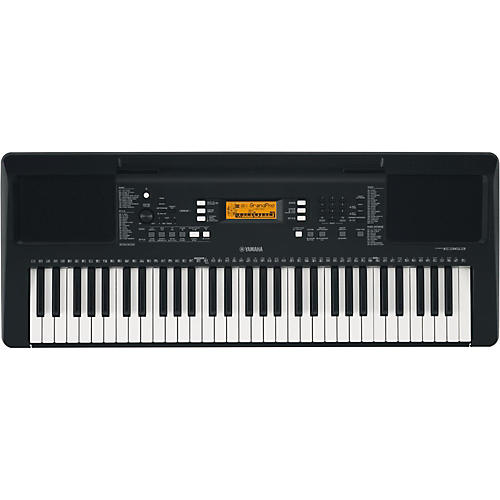 yamaha psr e363 61 key portable arranger keyboard black guitar center. Black Bedroom Furniture Sets. Home Design Ideas