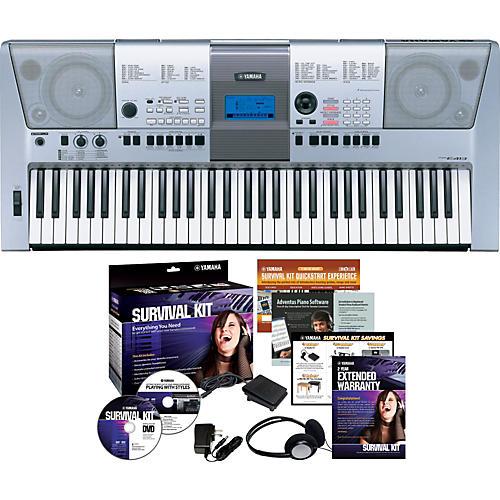 Yamaha PSR-E413 61-Key Portable Keyboard with Survival Kit