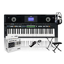 Yamaha PSR-S650 with M80 MkII, Bench, Stand & Sustain Pedal