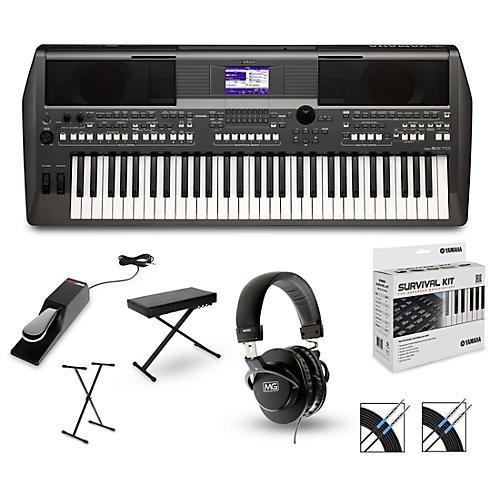 Yamaha PSR-S670 Arranger Keyboard Package